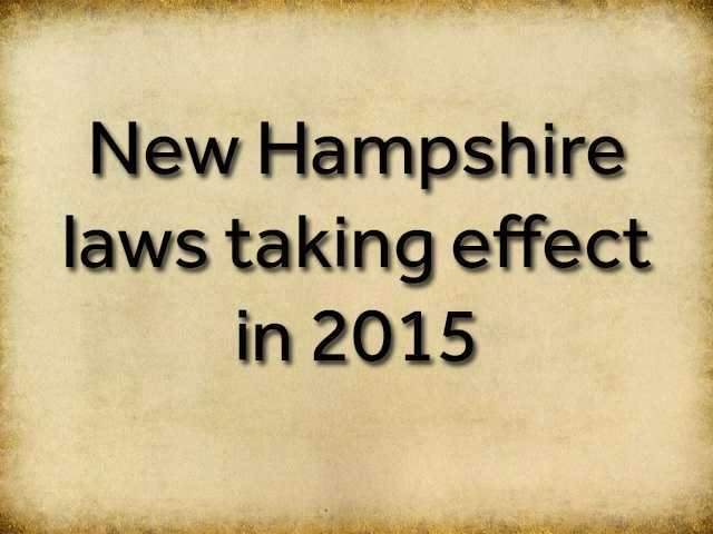 The New Year brings new laws to the state. Stay informed with the following list...