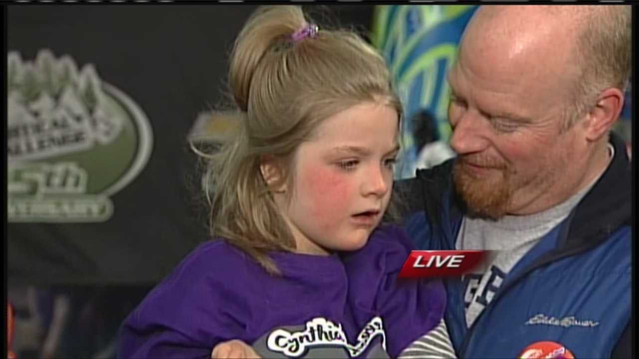 A fundraiser at King Pine in New Hampshire raises money for a girl battling Rett's Syndrome. WMTW News 8's Morgan Sturdivant reports.