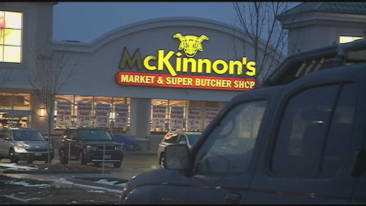 A man was killed while attempting to cross Route 1 in Portsmouth Monday morning. Timothy Morrison was the grocery manager for McKinnon's Market. WMUR's Shelley Walcott reports.
