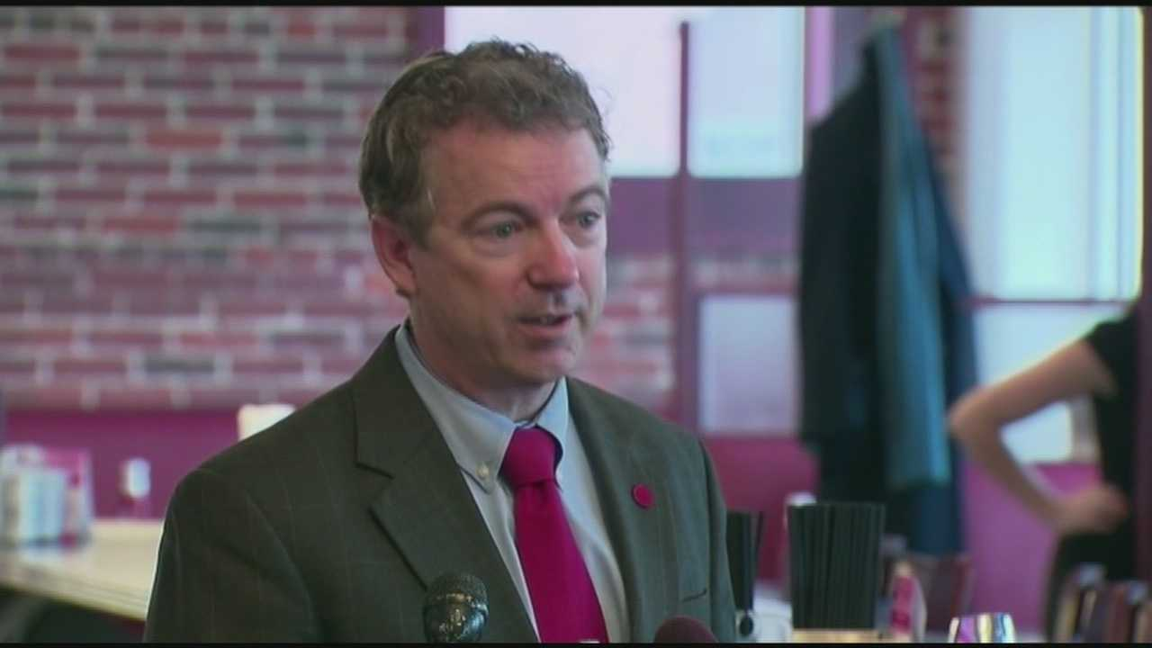 Rand Paul Visits NH