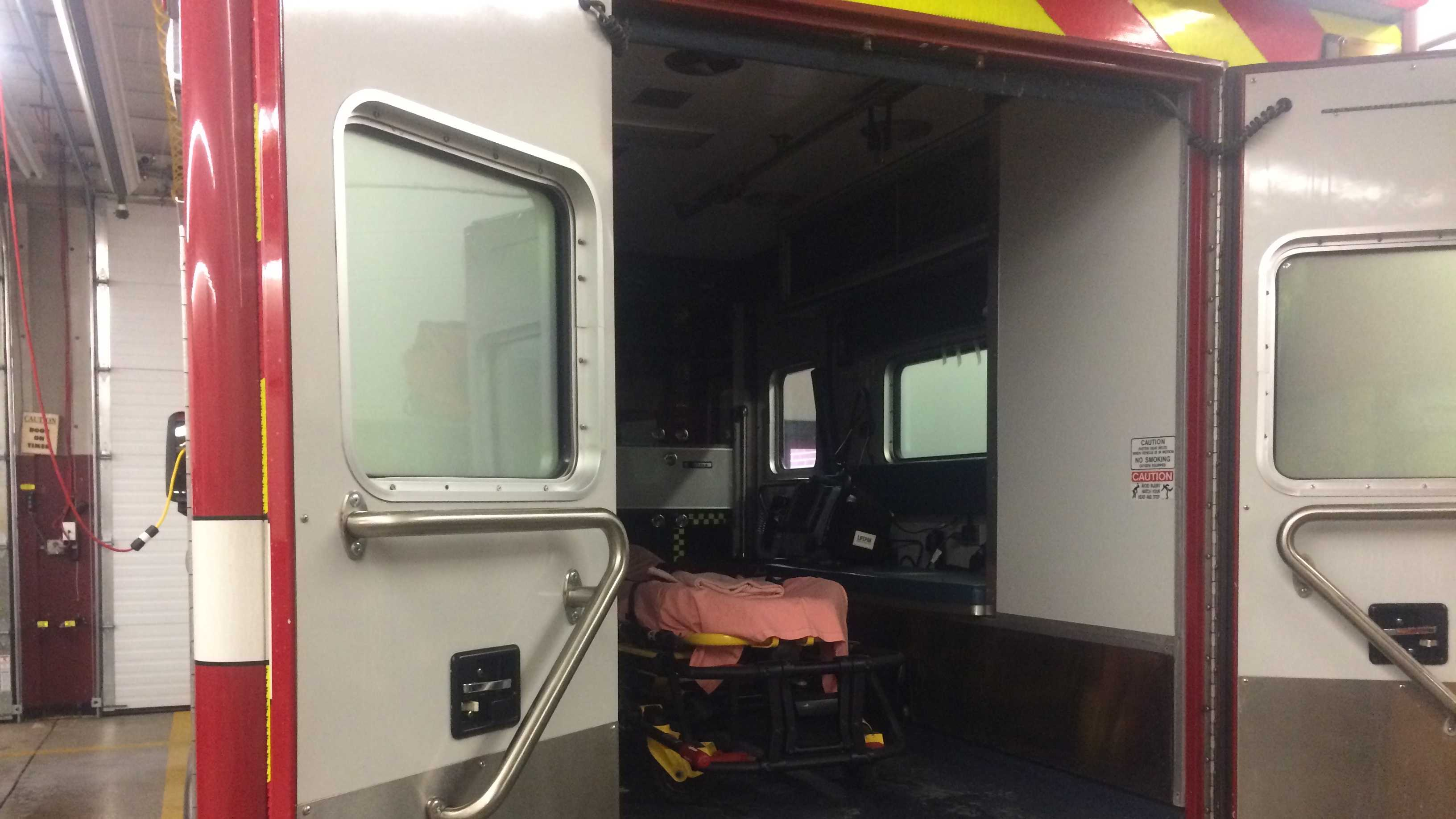 An Easton ambulance taking a crash victim to a Boston hospital had to be diverted because of the protests on I-93 in Milton and Somerville Thursday morning, Easton's fire chief said.