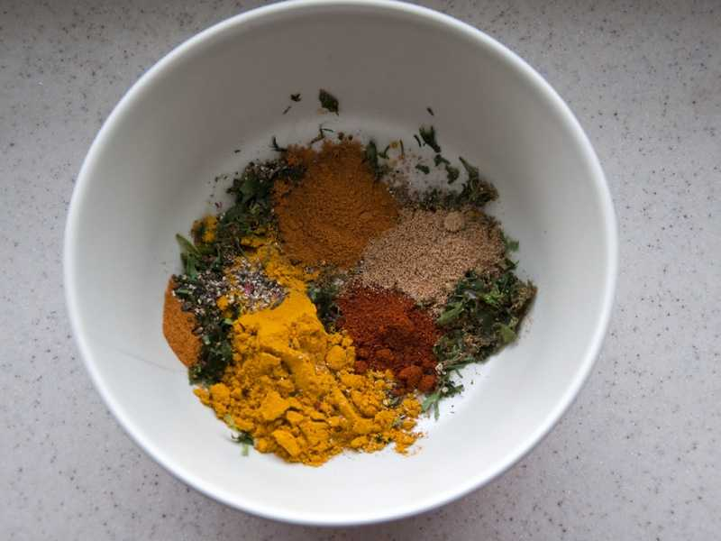 2.) Name-brand spices