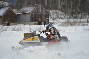 Explore the thousands of miles of snowmobile trails the state has to offer.