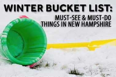 If you have family or friends visiting New Hampshire for the first time, what are some of the attractions or activities they absolutely must see or must do? Our Facebook fans helped us create this list of winter highlights...Click here to view the previous bucket list.