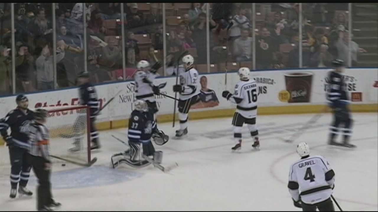 The Manchester Monarchs are packing up and heading west, but it doesn't mean New Hampshire will be without professional hockey. WMUR's Jean Mackin talks to fans.