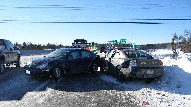 Police are warning Granite Staters to drive carefully and cautiously Saturday.