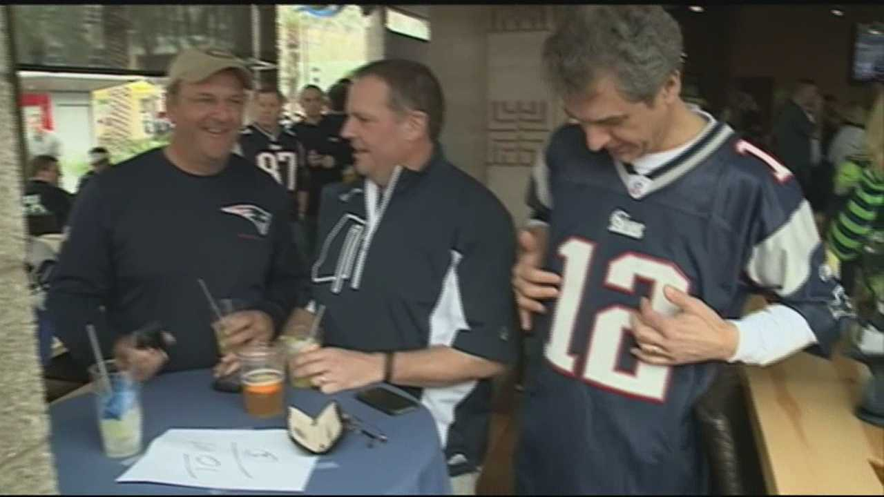 Many Granite Staters traveled to the Super Bowl to cheer on the Pats. WMUR's Sean McDonald is in Glendale, Arizona with the story.