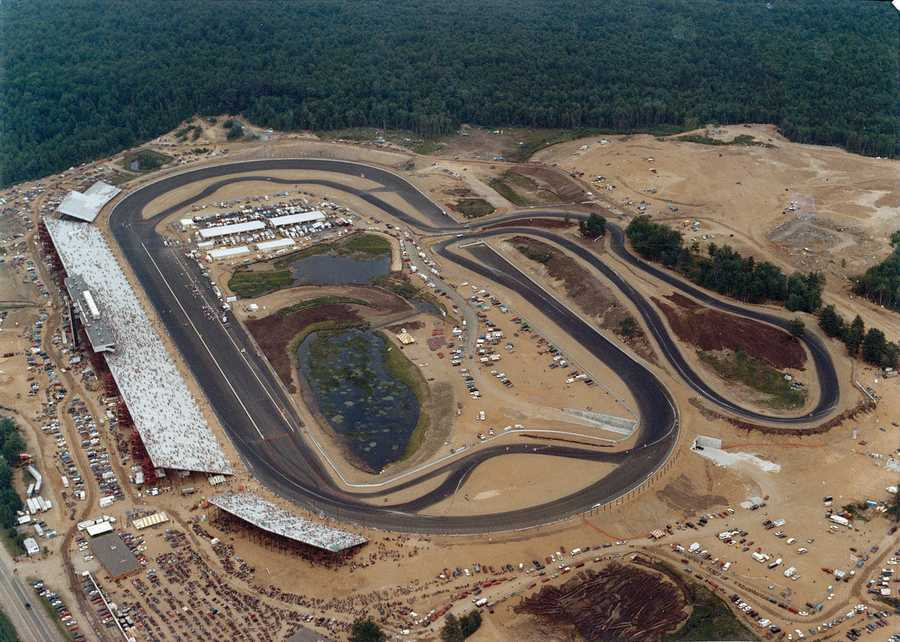 Now, Loudon hosts two NASCAR races each year, and the track can seat 88,000 people.