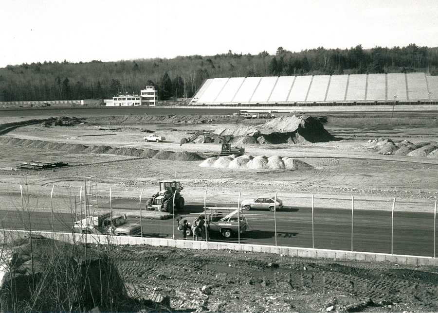 The New Hampshire Motor Speedway wasn't even open yet in 1985.