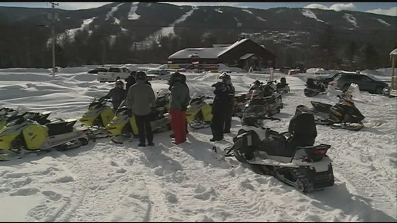The recent big snowstorms have made for great conditions for snowmobilers on New Hampshire trails.