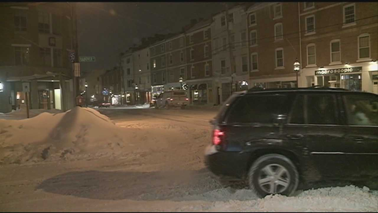 The City of Portsmouth has declared a city parking ban as another storm is expected to drop heavy snow on the seacoast.