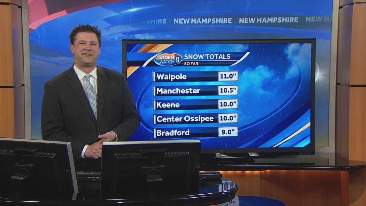 Meteorologist Kevin Skarupa has a look at the latest forecast.