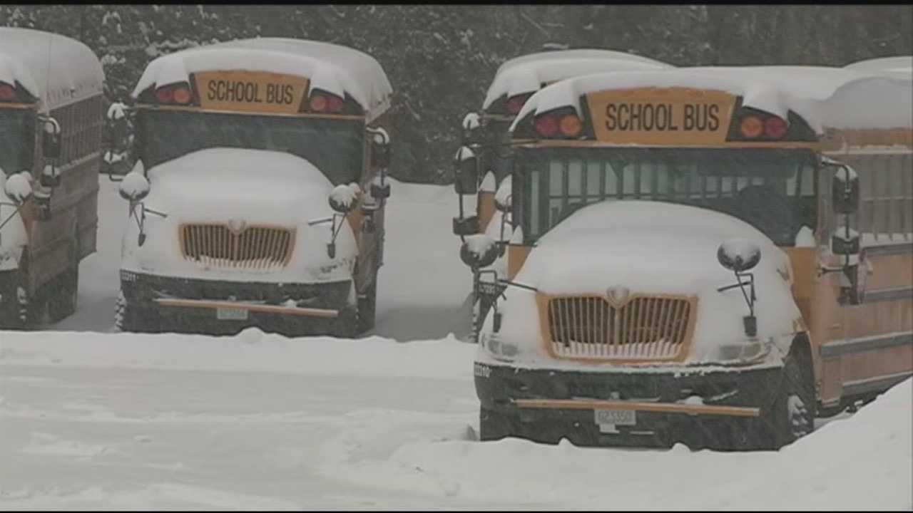 As another storm hits New Hampshire, several school districts are trying to deal with all the snow days.