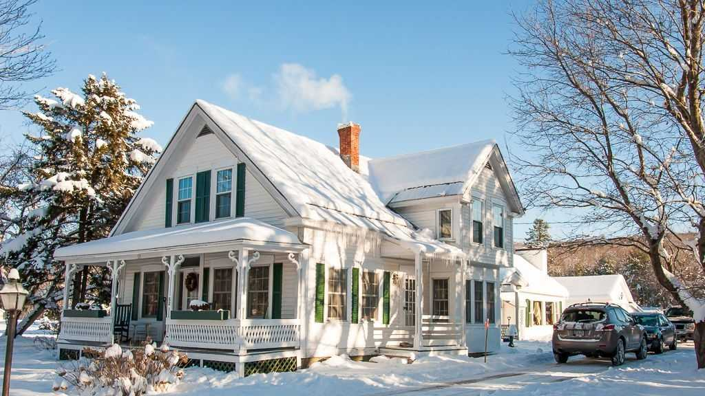 This classic 1800s New England farmhouse, set within walking distance of Franconia's downtown and with quick access to the new cross country trails at Ski Hearth Farm, is available for rent for $250 a night.