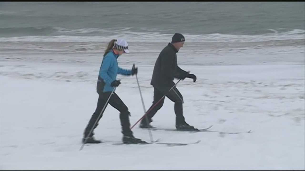 There have been quite a few opportunities for Granite Staters to check out the ocean during severe weather this winter. Saturday was no exception.