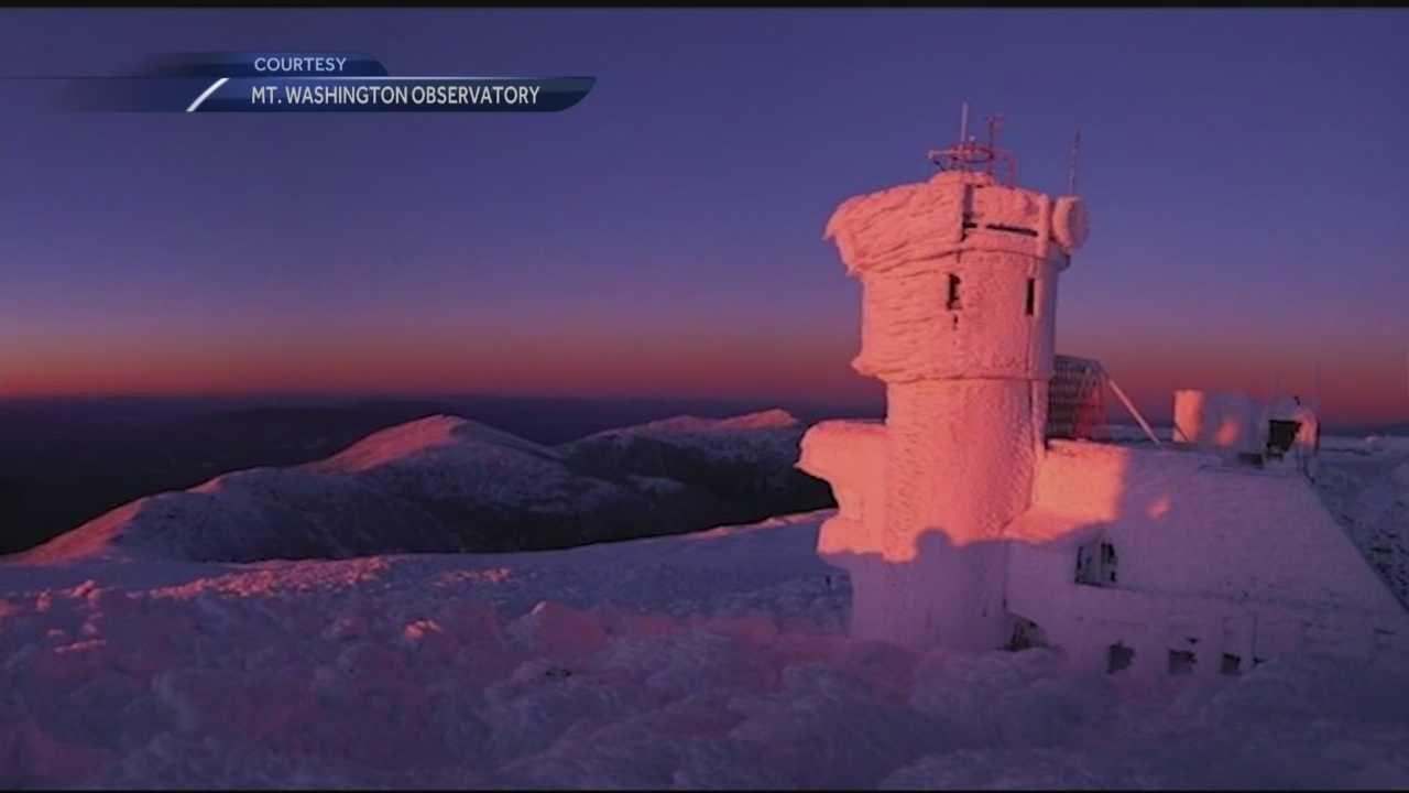 Mt. Washington typically gets some of the worst weather in the world, and this weekend's storm brought more extreme weather to the region's highest point.