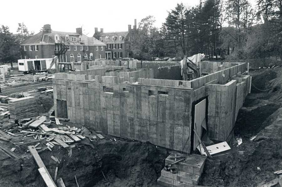 The campus of Dartmouth College was changing in 1985. That's when crews broke ground on the Andres, Morton and Zimmerman dormitories.