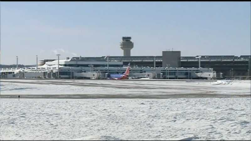 Now. millions of passengers pass through the airport each year, with four airlines offering service.