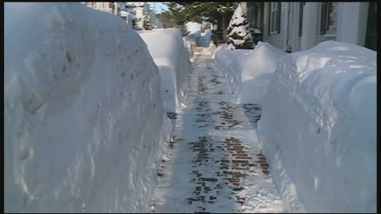 State and local officials are dealing with dwindling snow removal budget as an unusually snowy winter continues.
