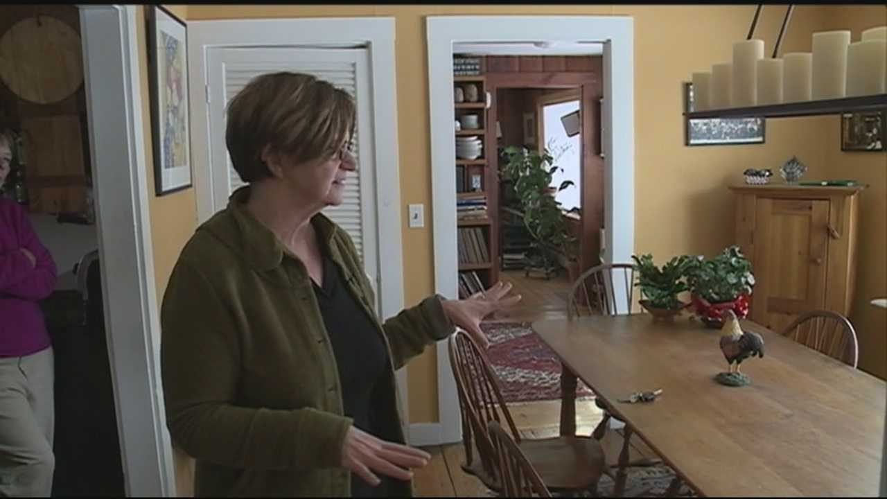 A Westmoreland woman who was shot in the back by her stepfather when she was 13 is trying to break the cycle of violence. WMUR's Amy Coveno has more.