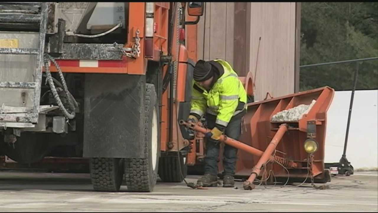 Recent quiet weather has given public works crews a chance to focus on the mess created by a string of powerful storms.