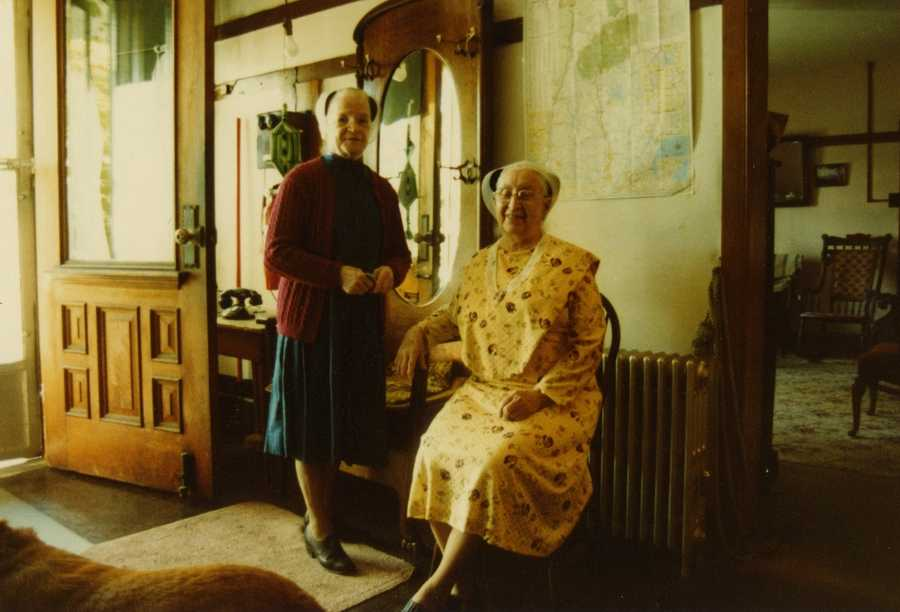 But the last Shaker sister in residence died in 1992.