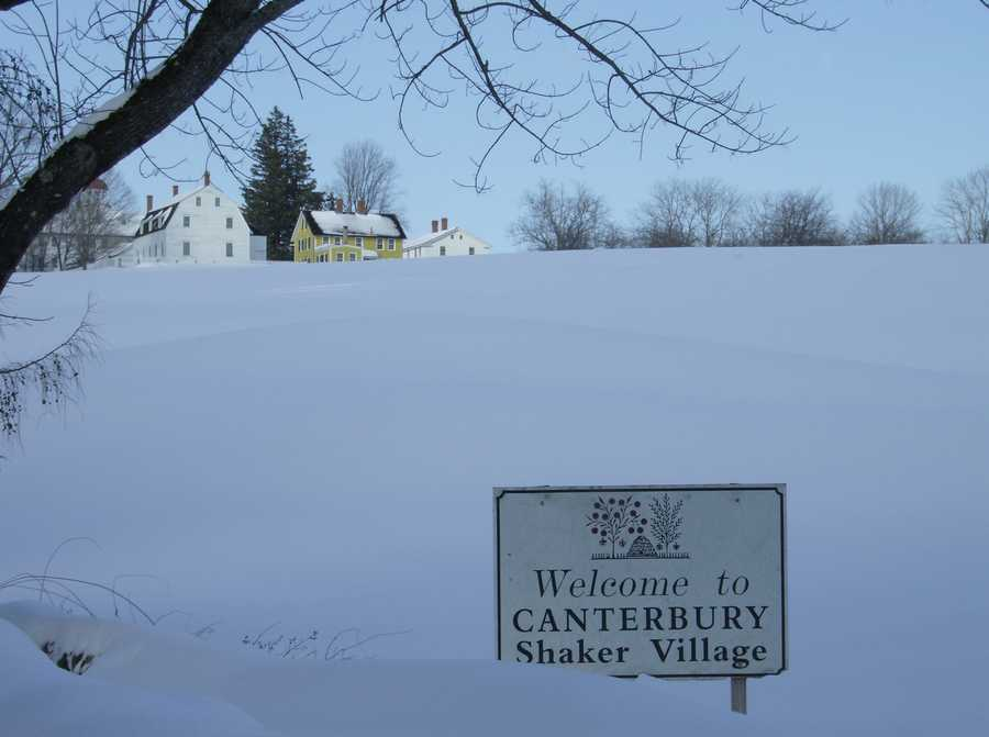 The Canterbury Shaker Village was still active in 1985.