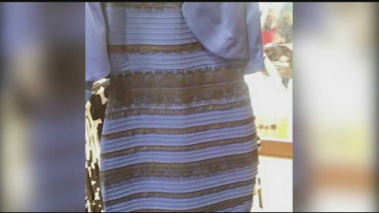 A photo of a dress that seemed to be playing tricks on the eyes took the Internet by storm Thursday night, but experts said science, not trickery, explains what's going on.