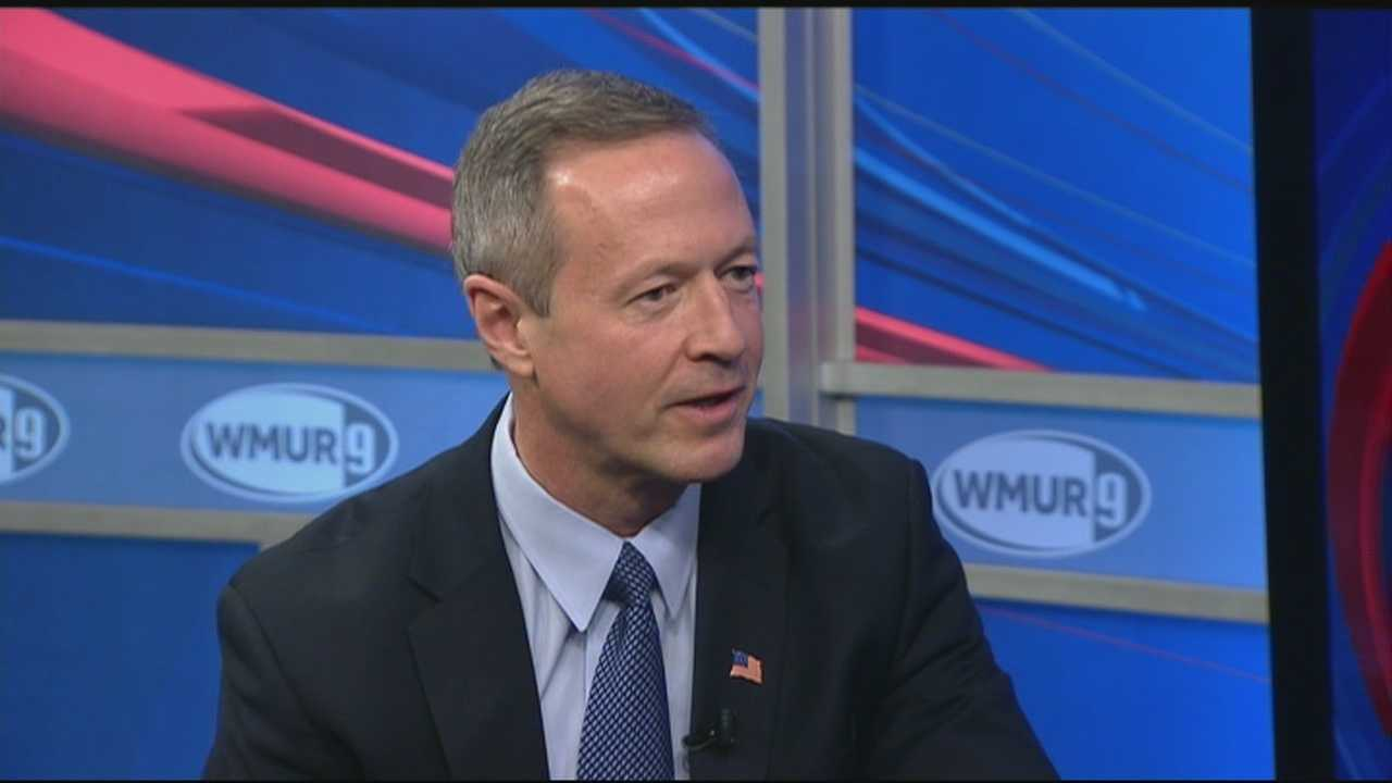Former Maryland Gov. Martin O'Malley visited New Hampshire on Friday, becoming the first potential Democratic presidential candidate to visit the state this year.