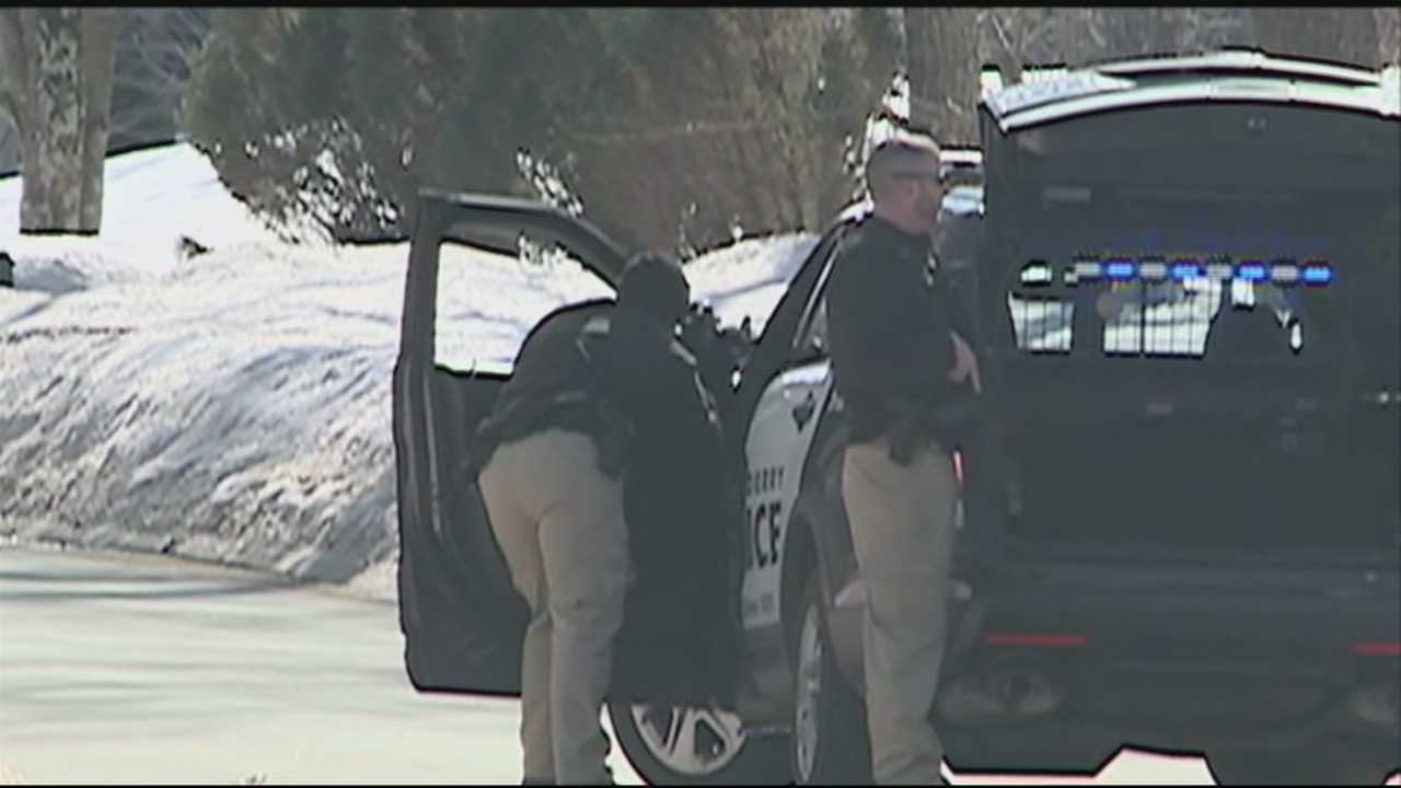 A standoff in Londonderry ended peacefully Monday with two arrests.