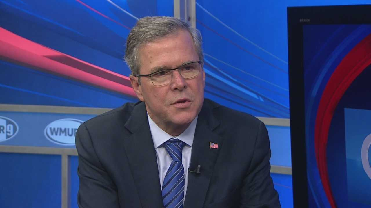 Former Florida Gov. Jeb Bush sits down with Josh McElveen and discusses the upcoming presidential election.