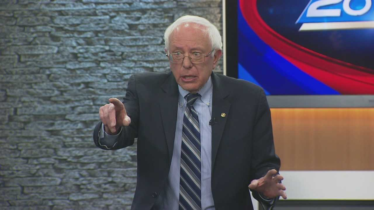 Potential presidential candidate Bernie Sanders joins Josh McElveen for the Conversation with the Candidate series (Part 2).