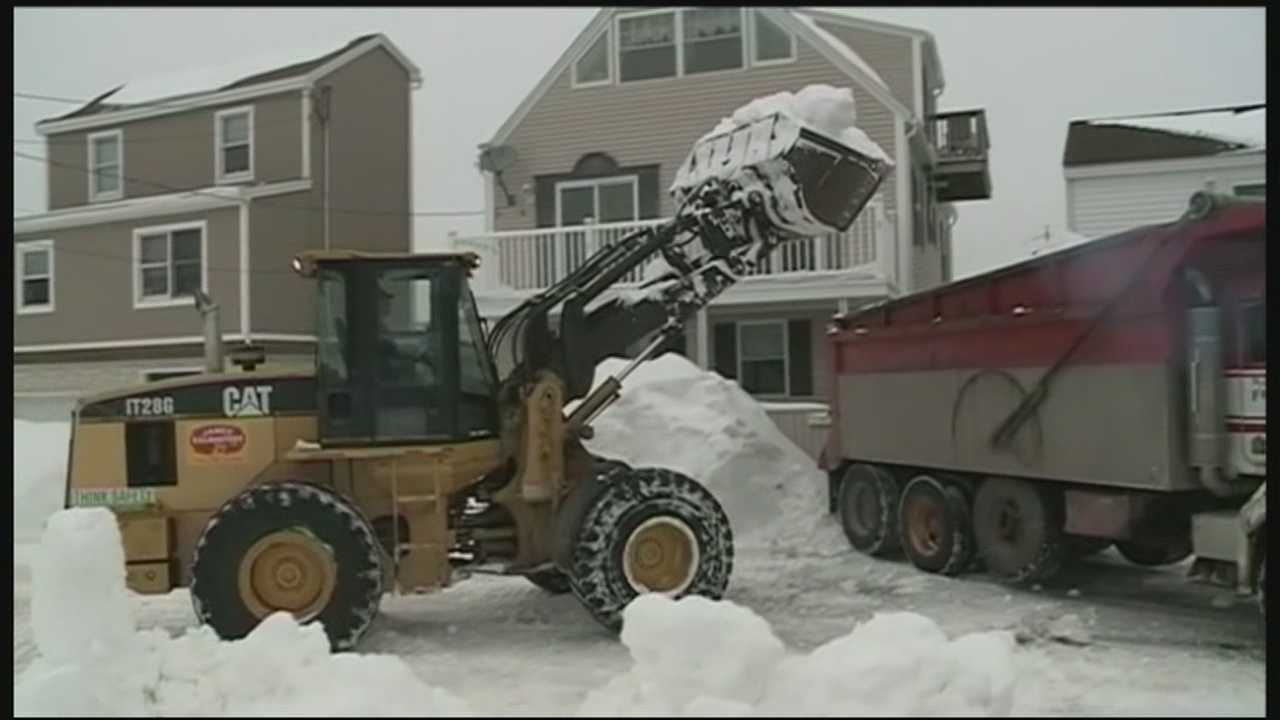 Officials in cities and towns in three New Hampshire counties are hopeful that President Barack Obama will officially declare the January blizzard a major disaster.