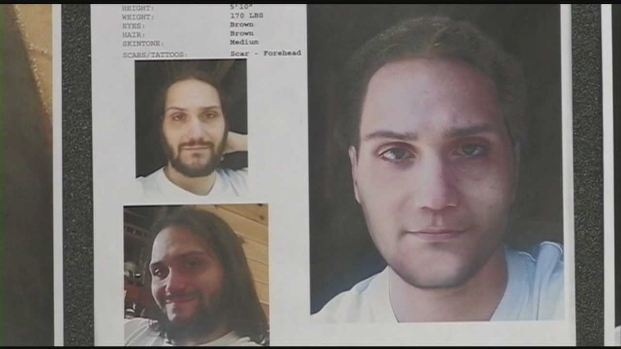 Authorities said Tuesday they are still trying to track down a man suspected in the deaths of his parents nearly a year ago.