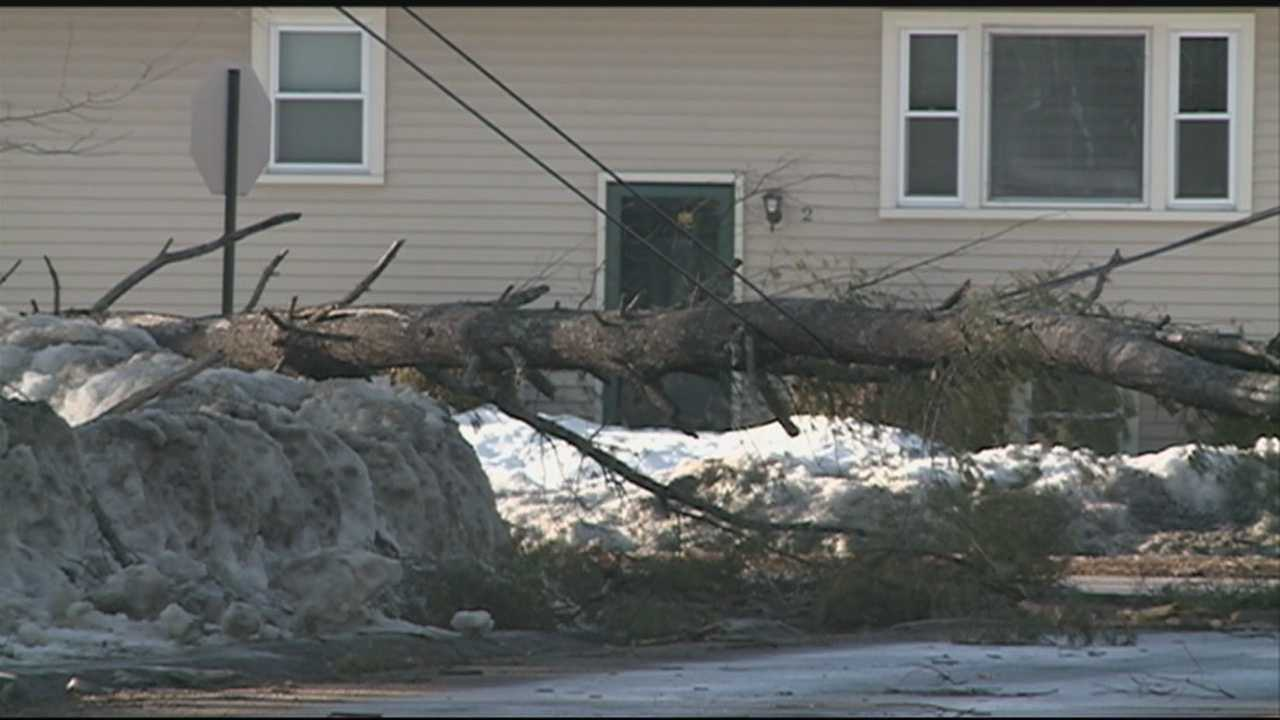 Gusting winds caused problems across the Granite State overnight, leading to widespread power outages.