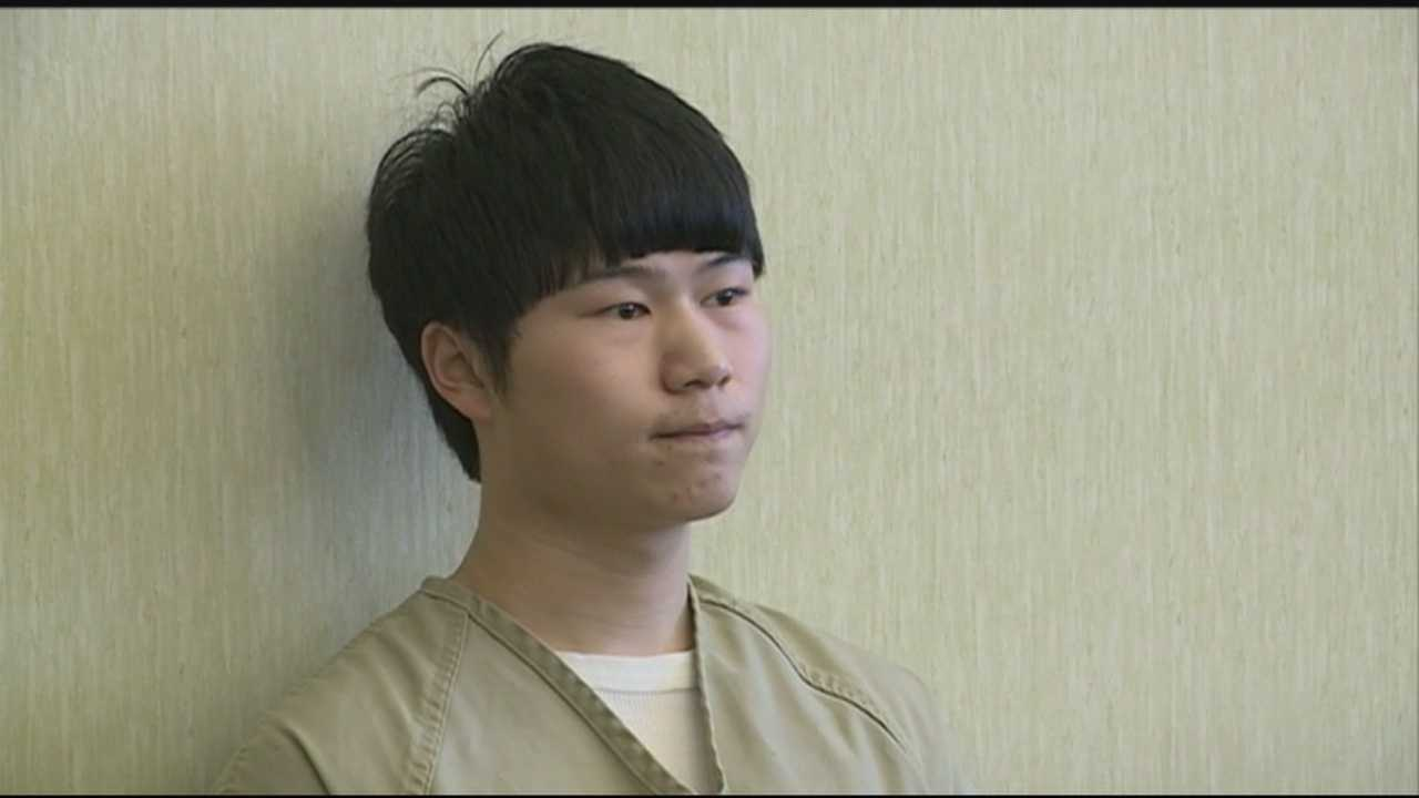 A 19-year-old from China is headed to prison and then will face deportation after being he was sentenced for a series of crimes that rocked the University of New Hampshire.