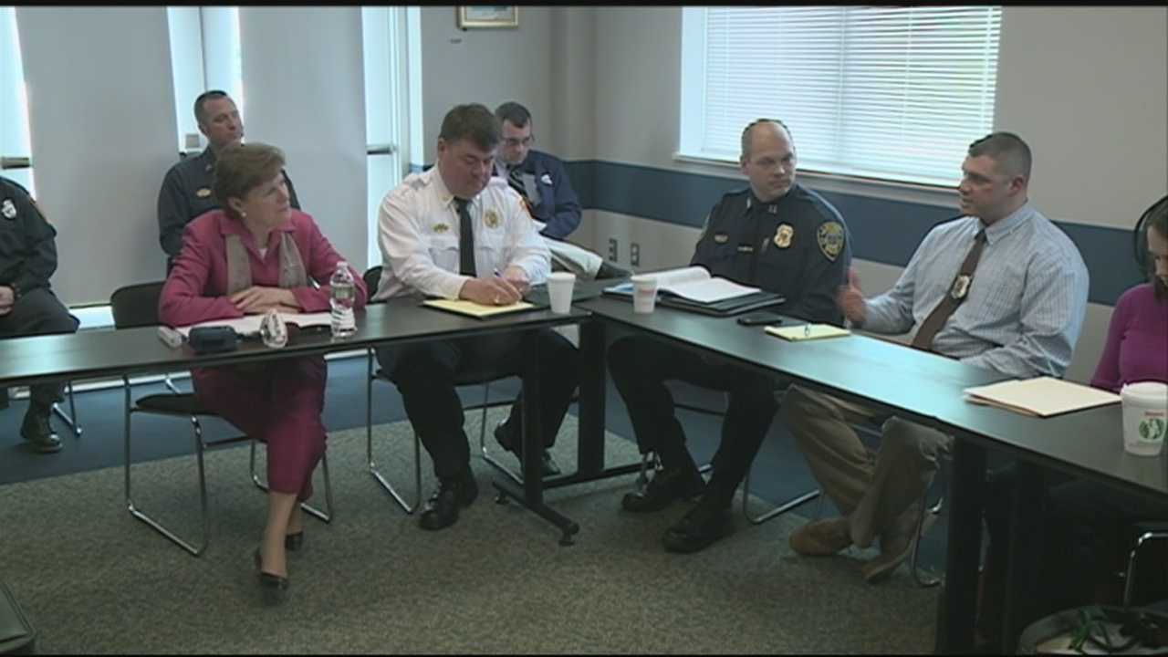 U.S. Sen. Jeanne Shaheen, D-N.H., held a meeting in Laconia on Tuesday on ways to handle the heroin epidemic in New Hampshire.