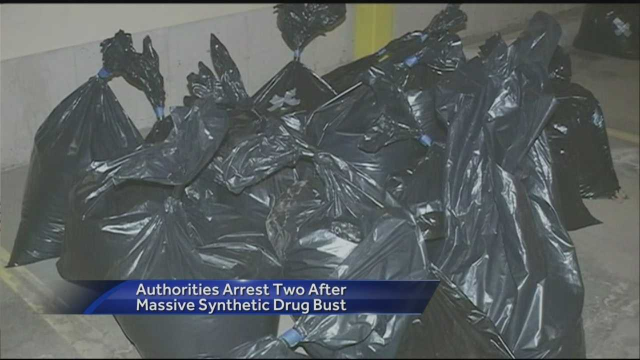 Federal investigators said Friday they have made the largest seizure of synthetic drugs in New England history.
