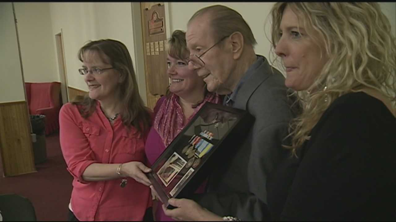 For nearly three years, John Ekenbarger was held captive as a prisoner of war in North Korea. On Friday, he was honored for his service with his family by his side.