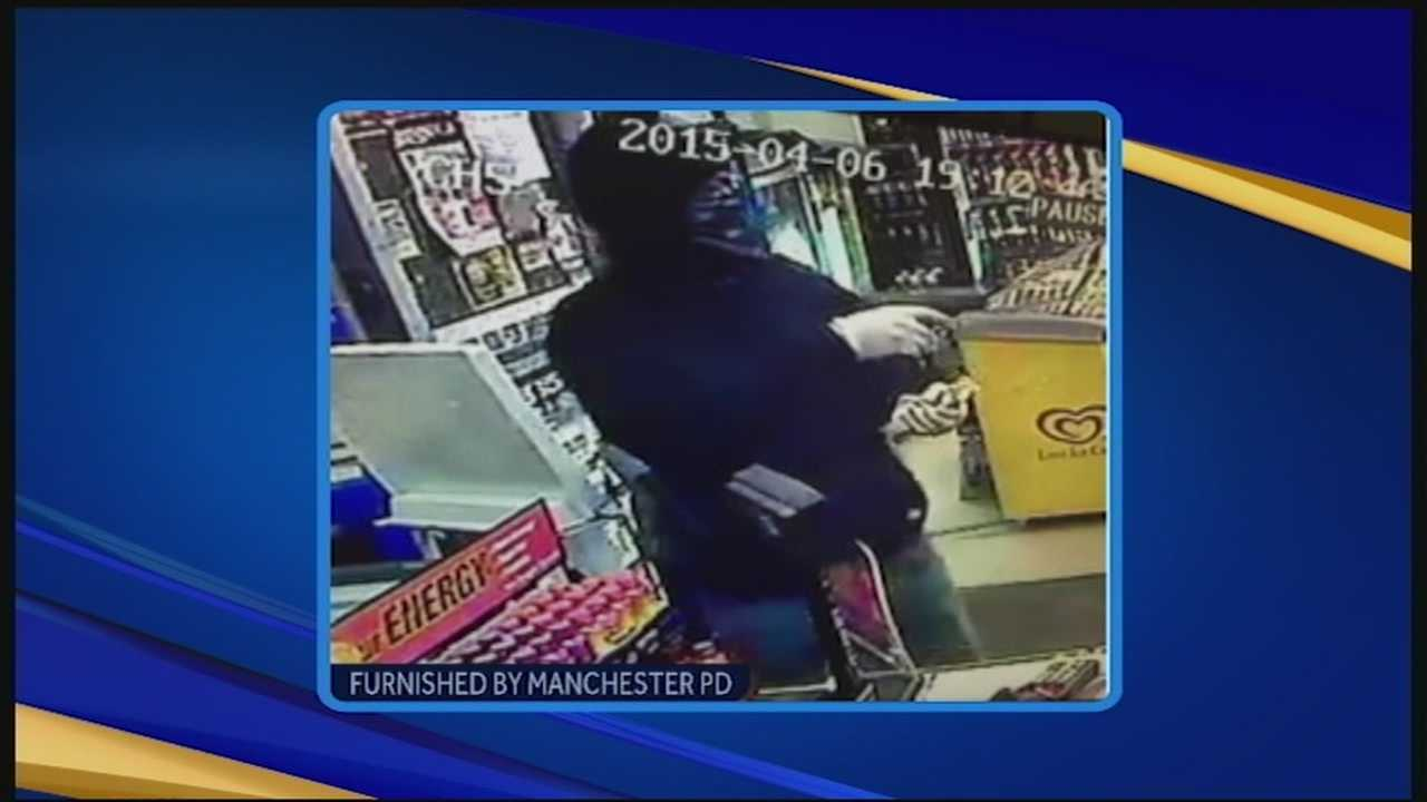 Manchester police are investigating three armed robberies that occurred Monday night and Tuesday morning.