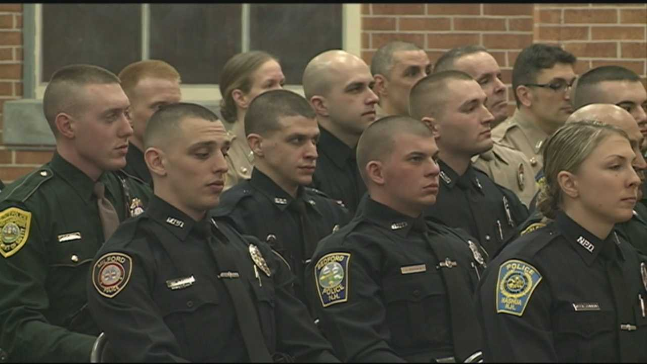 Law enforcement agencies across the state welcomed 58 newly certified officers Friday.