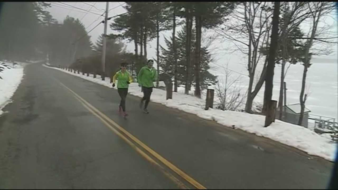 The 119th Boston Marathon is 10 days away, and local runners said training has been treacherous.