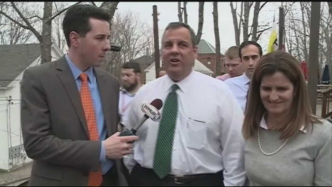 Chris Christie on Wednesday began a two-day visit to first-primary state New Hampshire by laying out a specific and potentially controversial plan to tackle what he called the root cause of the nation's fiscal woes. WMUR's Adam Sexton has more.