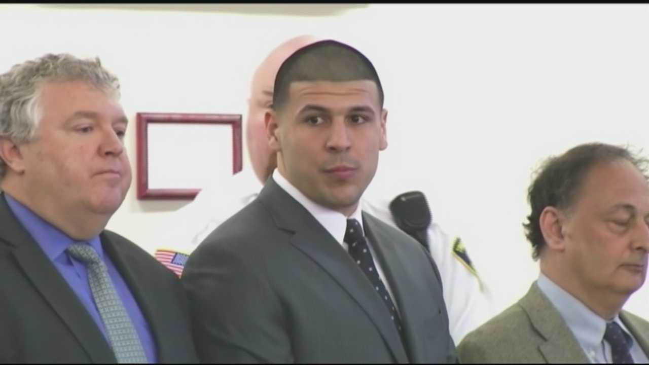 Former New England Patriots player Aaron Hernandez has been found guilty of first-degree murder and sentenced to spend life in prison without the possibility of parole.