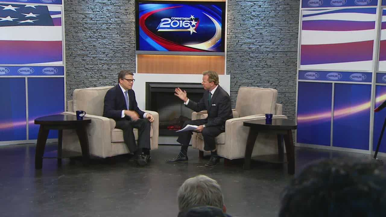 Potential Republican presidential candidate Rick Perry joins Josh McElveen for the Conversation with the Candidate series (Part 1).