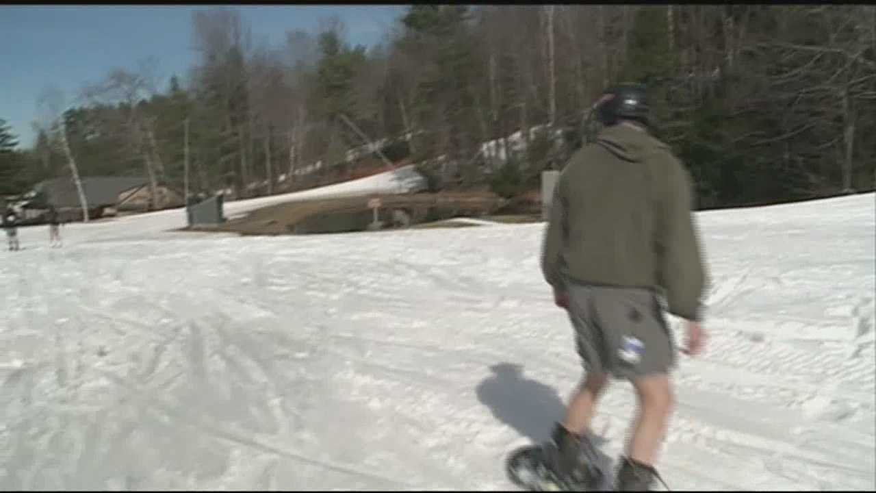 Mount Sunapee, Loon Mountain and Cannon Mountain all closed for the season Sunday. WMUR's Mike Cronin reports.