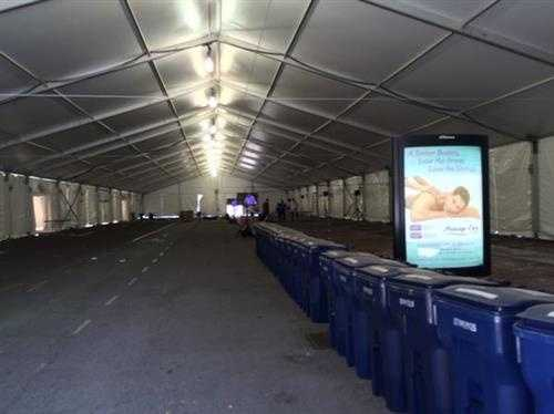 Medical tents have stocked heating pads ahead of Boston Marathon