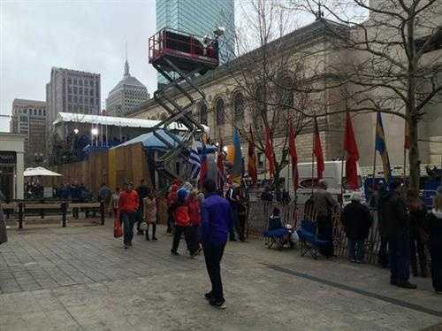 Kristen Carosa says -- Good morning from Boston!Happy Marathon Monday!