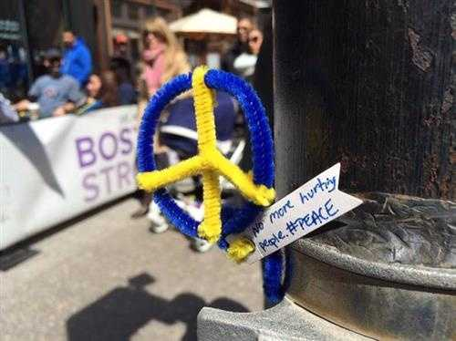 Youngest Boston Marathon victim remembered near bombing site