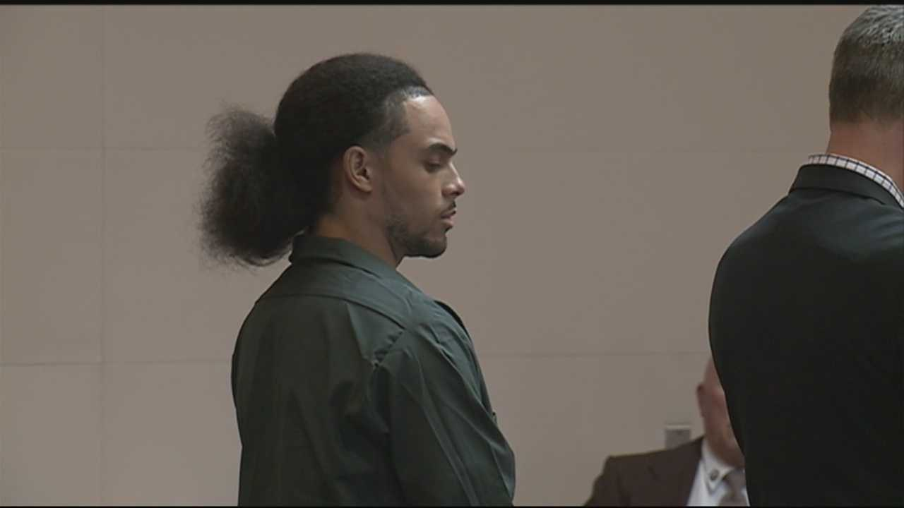 A man convicted of shooting a Manchester police officer in 2012 was back before a judge Thursday as he seeks to have his sentence reviewed.